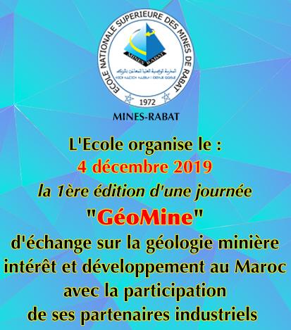 Journée «GéoMine»